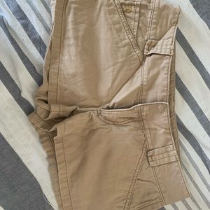Express Tan Shorts